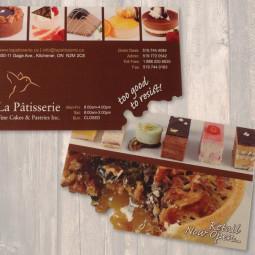 La Patisserie Postcard
