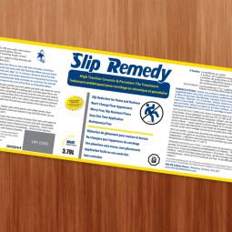 Slip Remedy Label